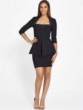 Viscose Square Neck Wiggle, Pencil Formal Dresses for Women
