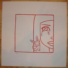 2005 Bubblegum Tears - Silkscreen Art Print S/N by Tara McPherson