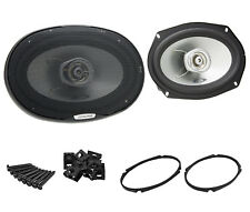"New Pair Alpine SXE-6925S 6x9"" 280W Max 2-Way Coaxial Car Audio Stereo Speakers"
