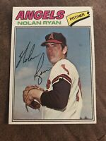 1977 Topps Nolan Ryan California Angels #650 Baseball Card