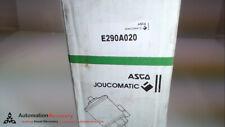 ASCO E290A020, PRESSURE OPPERATED VALVE, NEW #274872