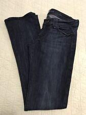 7 For All Mankind Women's Rocker Boot Cut Jeans Dark Wash Size 28