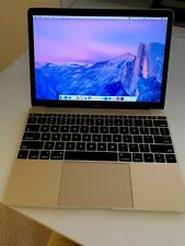 Apple MacBook 12 inch Laptop Bundle - Excellent Condition + Apple Leather Sleeve