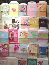 Closeout Mixed Assortment of 82 Hallmark Greeting Cards Birthday,Sympathy,Etc
