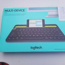 Logitech k480 multi-device keyboard blue tooth switch typing tablet phone   New