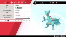 Pokemon Jungko     shiny 6IV + masterball - Battle Ready - Epée / Bouclier