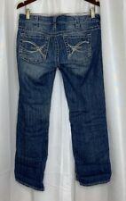 W30 Silver Jeans Tuesday Baby Boot Capris Low Rise Stretch Plus sz 30 x 26 Long