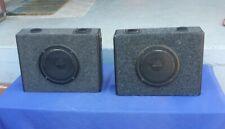 Kenwood KSC-8800 2 way speakers 150w 4 ohm Car Trunk Speakers (2) Old School