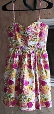 Trixxi  Spaghetti Strap Women's Size 5   Floral Dress