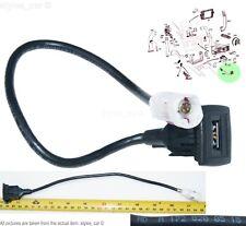 A1728200515 Mercedes-Benz C E Class SLK GLK AMG Genuine USB socket connector