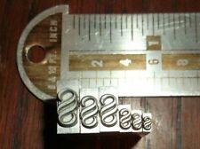 Lot Of 6 Finale Ornaments Foundry Type Letterpress Printing Dingbat Vintage