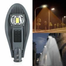30/50W LED Road Street Flood Light Industrial Lamp Outdoor Garden Yard AC85-265V