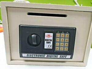 FORTESS Electronic Safe with letter box and key overide.  Secure deposit box.