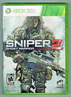 Sniper: Ghost Warrior 2 Microsoft Xbox 360 Complete CIB Video Games Gaming
