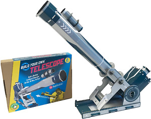 Build Your Own Working Telescope   Create a Fully Functioning Stargazing Refacto