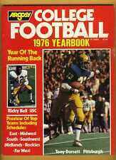 1976 football magazine Tony Dorsett Pittsburgh Panthers