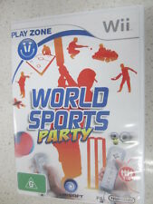 world sports party wii