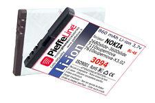 Batteria Li-ion 860 mAh per nokia 3710 fold X3.02 X3-02 BL-4S