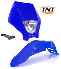 Garde boue + Tete de fourche Super-motard Bleu YAMAHA