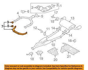NISSAN OEM-Exhaust Bracket 20711AF40A