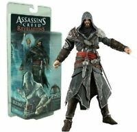 ASSASSIN'S CREED EZIO REVELATIONS AUDITORE MENTOR MODEL STATUE FIGURE TOY GIFTS