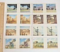 1960s 3D TRUE TO LIFE STEREO VIEWER CARDS CEREAL SANITARIUM CANBERRA SET OF 8!!!