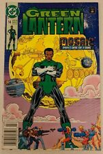 Green Lantern #14 DC Comic 1991 Mosaic Part 1 John Stewart 2nd Series