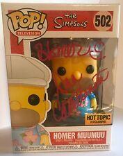 Homer Simpson Dan Castellaneta signed Autographed Funko Pop The Simpson's