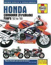 1992-1999 Haynes Honda CBR900RR (Fireblade) Fours Hardback Repair Manual