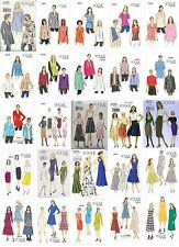 Vogue Sewing Patterns NEW Misses' Clothing Tops Jackets Skirts Pants Dresses OOP