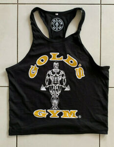 Mens Gold's Gym Muscle Joe Stringer Bodybuilding Activewear Tank Top