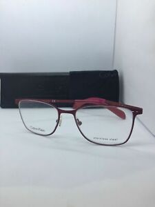 NEW Authentic Calvin Klein CK5402 604 Bordeaux Stainless Steel 51-17 FAST SHIP