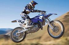 Motocross DESERT RACER Motorcycle Dirt Bike Racing Super Action Poster