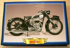 NORTON BIG 4 600 VINTAGE CLASSIC MOTORCYCLE BIKE 1950'S PICTURE PRINT 1950