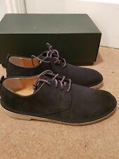Clarks originals dessert London shoes navy suede Uk9 NEW BOXED
