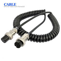 8 Pin Microphone Extension Cable For Yaesu Kenwood Icom Walkie Talkie Accessorie