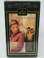 MISS ROSE WHITE - COLLECTOR'S EDITION VHS VIDEO MOVIE, HALLMARK HOF, KYRA SEDGW.