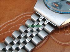 Tipo de jubileo de acero sólido 20mm Pulsera de doble bloqueo de reemplazo para 6139-8020