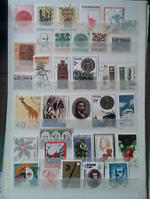P669 . POLOGNE. POLSKA.  2 PAGES TIMBRES OBLITERES