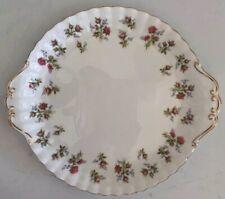 "Royal Albert ""Winsome"" Handled Round Dessert / Cake Plate 10.25"" - Inc Ship"