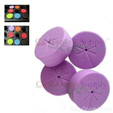50 pk Net Pot Cloning Collar Insert Diy Cloner Fits 2in Pot Purple Non-toxic Add