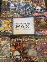 Pokemon TCG Mystery Blister Pack (3) Sealed Booster Packs + Rare Promo!