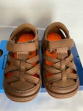 StrideRite Amos- Brown Toddler Boy Shoes Sandals US Size 4M
