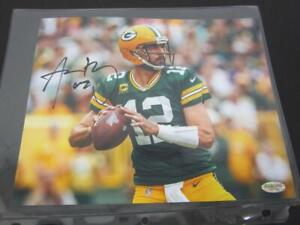 Aaron Rodgers Green Bay Packers Signed Autographed 8x10 Photo