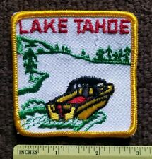 California NEVADA Water Ski Boat swimming summer TRAVEL collectors patch