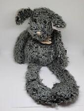 Peluche doudou chien gris Les Bouclettes Histoire d'Ours 45 cm ENV - NEUF