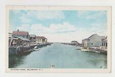 Wildwood,N.J.Ottens Canal,Cape May Co.c,1918-30s
