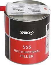 Auto Car Body Filler BOG 4kg StrongBond EasySand QuickFix - Panel Beater Choice