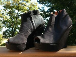 Jeffrey Campbell Leather Bootie