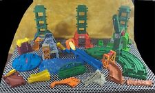 Thomas the Train Trackmaster Track Parts Lot Including Cranky Very Clean 70+